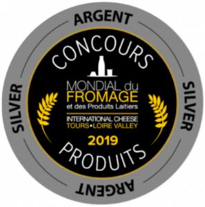 Médaille d'argent Mondial Fromage Tours
