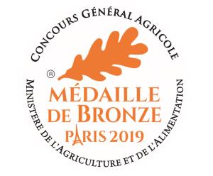 Médaille de bronze concours agricole